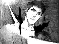 Gin ataca a Aizen