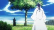 Hisagi bertemu Tosen