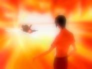 O14 moc Ichigo wymyka się spod kontroli na oczach Uryu