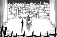 R547 Shunsui obserwuje krajobraz