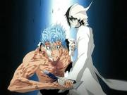 Ulquiorra interrompe a luta de Grimmjow