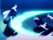 O16 Renji rani Rukię na oczach Byakuyi