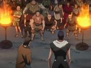 Maki and Toba assemble followers