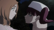 Riruka confronts Orihime