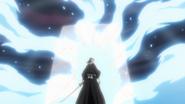 Byakuya Blocks Kido