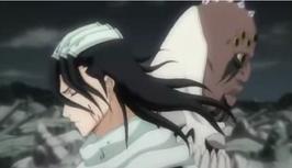 Byakuya y Zommari