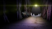 Ichigo and Rukia run from Kototsu