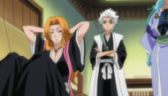 Rangiku approached by her captain