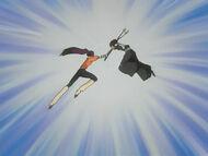 Yoruichi Soifon Battle