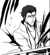 Aizen es crtado por Hirako