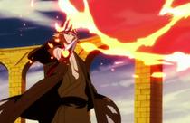 Ep. 338 - Reigai-Kisuke Urahara firing Haien against Urahara