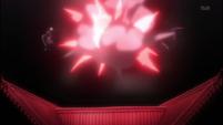 Kira uses Shakkaho to divert Kazeshini's attack