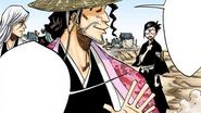 154Shunsui, Ukitake, and Nanao arrive