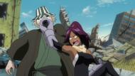 300Yoruichi punches