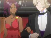 Kisuke y Yoruichi