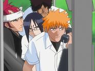 O65 Ichigo, Renji, Uryu i Sado odbierają kolejny telefon od porywacza
