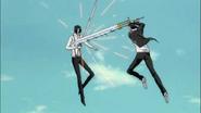 Tsukishima vs ginjou