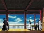 Byakuya presents Dangai item