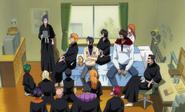 O331 Wicekapitanowie Gotei 13 i przyjaciele Ichigo spotykają się w pokoju Zastępczego Shinigami