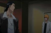 Kugo taunts Ichigo