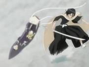 Rukia se separa del grupo