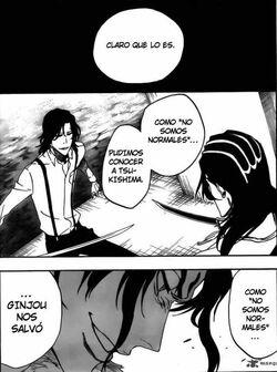 Riruka le dice a Rukia que si es importante no ser normales