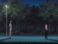 Ryuken fala com Uryu