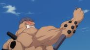 Yammy grabs Ichigo