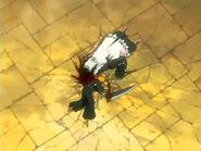 Fin de la lucha Ichigo vs Kenpachi