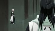 Reigai Hitsugayi pokazuje się Byakuyi