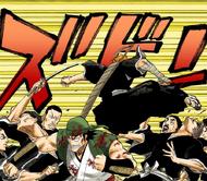 92Ichigo and Ganju attack