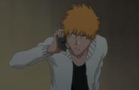 Ichigo escuchando a rukia
