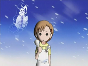 Yuzu escuchando a Karin