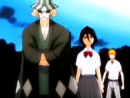O14 Urahara staje na drodze Rukii i Konowi