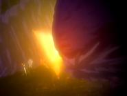 O21 Orihime chroni Sado, Ichigo, Uryu i Yoruichi przed Kototsu