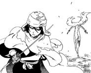 R567 Rukia zamraża Asa