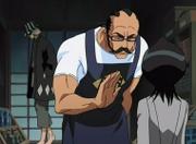Rukia visita urahara sho