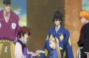 Shu shows Rurichiyo letters