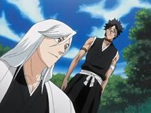Ukitake And Hisagi