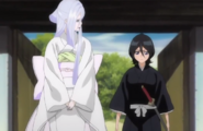 257Rukia and Sode no Shirayuki discuss