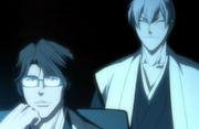 512px-Aizen and Gin watch Ichigo battle Byakuya-1-