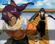SB 07 Yoruichi sets off