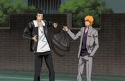 Ichigo mengembalikan tas Ginjo