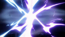 Choque de los Getsuga Tensho de Kugo y Ichigo