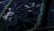 Ikkaku fights against his Reigai