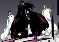 546Yhwach, Haschwalth, and Uryu watch