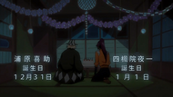 O303 Daty urodzin Kisuke i Yoruichi