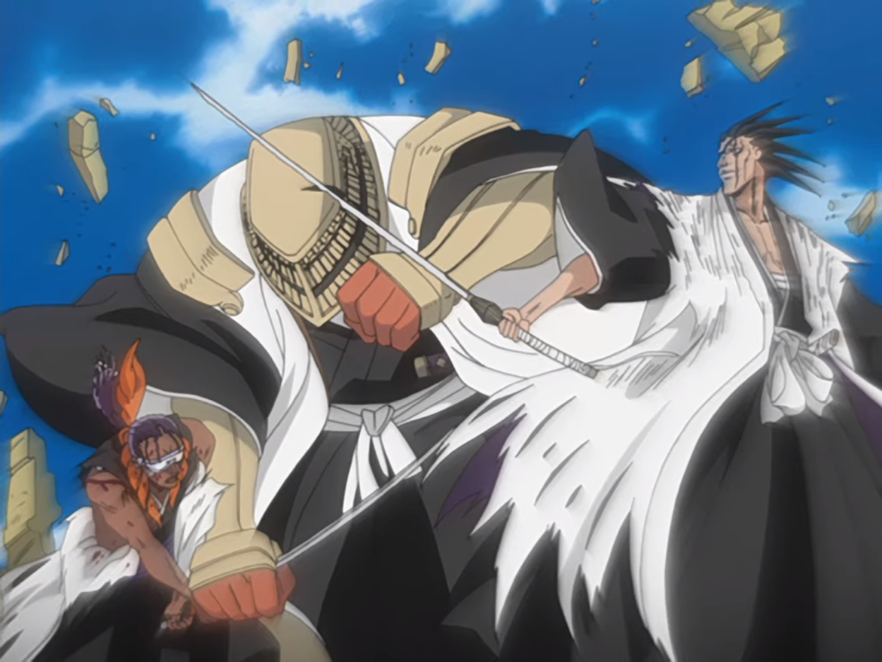 Sajin Komamura Bleach Wiki Fandom Powered By Wikia