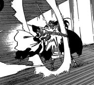 R615 Ichigo atakuje Yhwacha