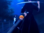 O16 Renji nad rannymi Ichigo i Rukią